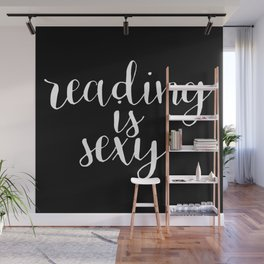 Reading is Sexy (Inverted) Wall Mural