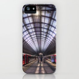 Kings Cross Station London iPhone Case