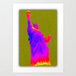 Liberty USA Art Print