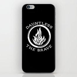 Divergent -  Dauntless The Brave iPhone Skin