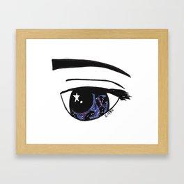 Galaxy Gaze Framed Art Print