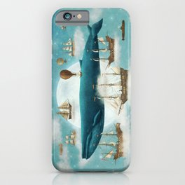Ocean Meets Sky - from picture book iPhone Case