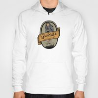 middle earth Hoodies featuring Gandalf's Middle earth tour by SuperEdu