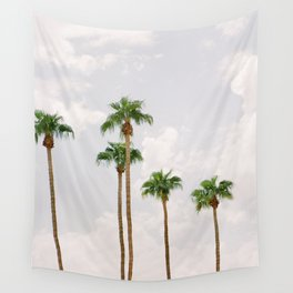 Palm Springs Palm Trees Wall Tapestry