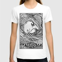 lichtenstein T-shirts featuring Zentangle Lichtenstein by butterflyandbear