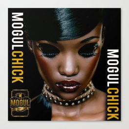 Mogul Chick Canvas Print