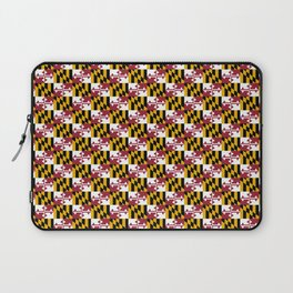 flag of maryland 2-america,usa,Old Line State,marylander, America in Miniature,Baltimore,Columbia Laptop Sleeve