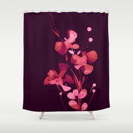 Organic Impressions 334zl by Kathy Morton Stanion Shower Curtain