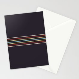 Masamune - Classic Retro Stripes Stationery Cards