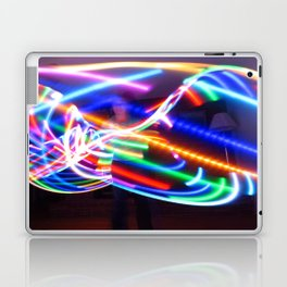 LED Hula Hooping Laptop & iPad Skin