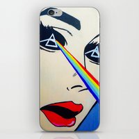 floyd iPhone & iPod Skins featuring Pink Floyd by Gabrielle Wall