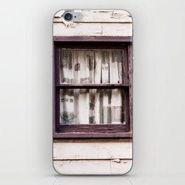 Window. Downieville. California. USA iPhone Skin
