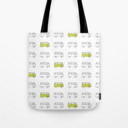 Hippie Van (AKA V W Bus) Tote Bag