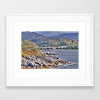 nan lawson Framed Art Prints featuring Loch nan uamh Viaduct by Chris Thaxter
