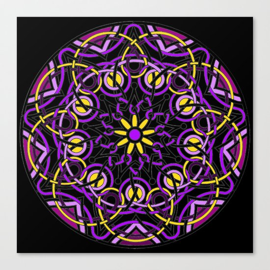 Mandhala Metamorphosis | Reiki | Meditation | Yoga Canvas Print