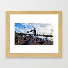 Birdman III Framed Art Print