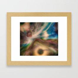 Liquid Abstract Framed Art Print