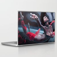 daria Laptop & iPad Skins featuring Stolen Voice by Vladimir Wood
