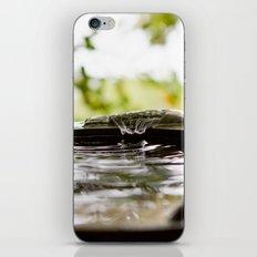 Rain Splash iPhone Skin