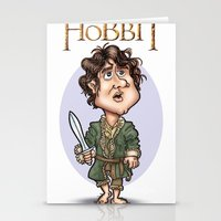the hobbit Stationery Cards featuring The Hobbit by Roberto Núñez