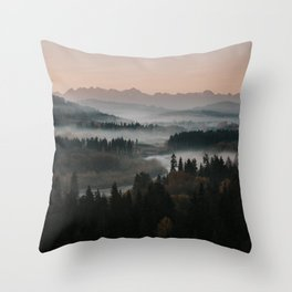 Good Morning! - Landscape and Nature Photography Throw Pillow