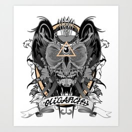 Oligarchy Art Print