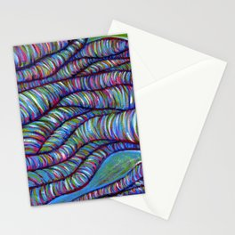 Overture / Abstract Acrylic Stationery Cards