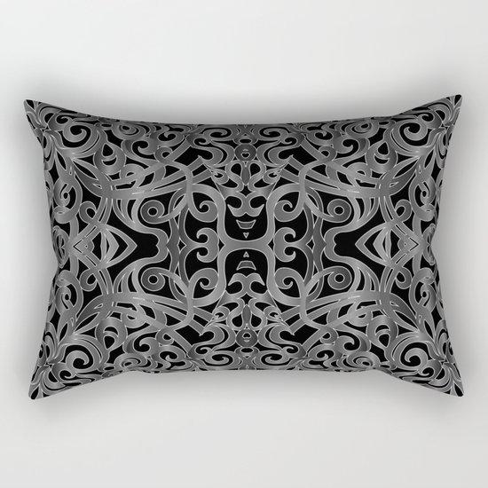 Floral Wrought Iron G19 Rectangular Pillow