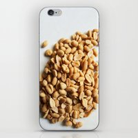 peanuts iPhone & iPod Skins featuring Salted Peanuts by Steve P Outram