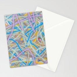 Satin Waves Stationery Cards