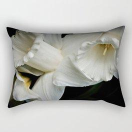 Buttercream Daffodils Rectangular Pillow