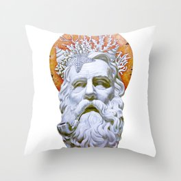 Submersion Throw Pillow