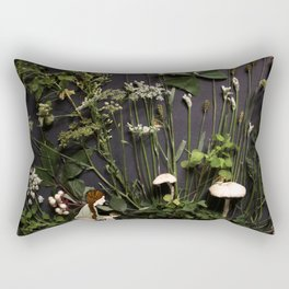 Bridie and the Robins in the Forest of Shamrocks Rectangular Pillow