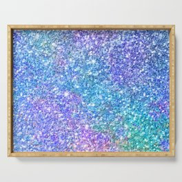Colorful Glitter Texture Serving Tray