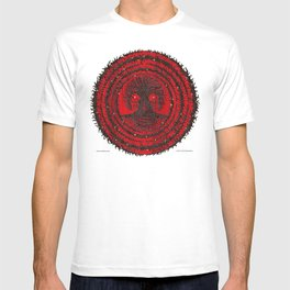 romkaláh lights gallery mandala T-shirt