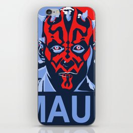 Patriotic Maul iPhone Skin