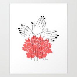 Reaching For Light Art Print