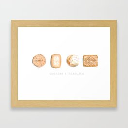 Cookies & Biscuits 2 Framed Art Print
