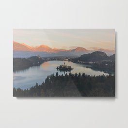 Lake Bled, Slovenia II Metal Print
