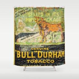 Bull Durham Shower Curtain
