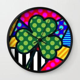 Lucky Trinity Wall Clock