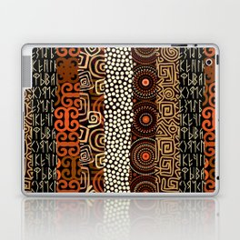 Geometric African Pattern Laptop & iPad Skin