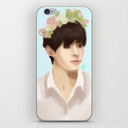 Hongbin Flower Crown iPhone Skin