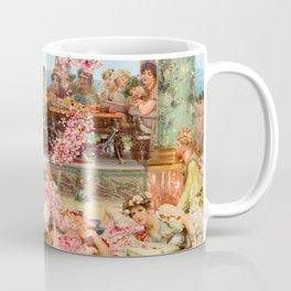 The Roses of Heliogabalus by Sir Lawrence Alma-Tadema Coffee Mug