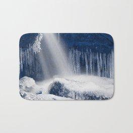 Stream of Blue Frozen Hope Bath Mat
