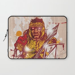 roman warrior hand draw Laptop Sleeve