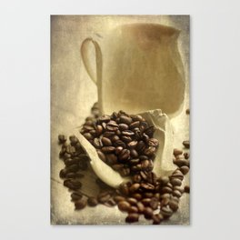 Coffee break in the morning time  Canvas Print