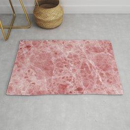 Juliette rosa deep pink marble Rug