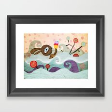 I just want you to find me Framed Art Print