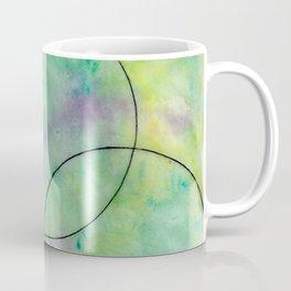 Green Spots Coffee Mug